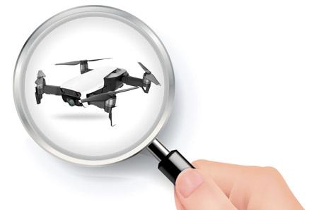 Autonomia drona