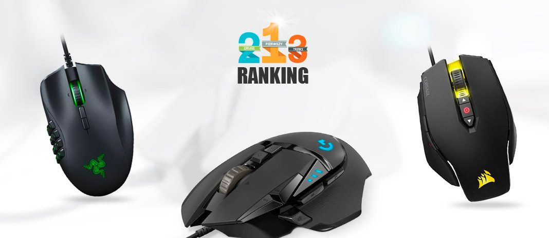 ranking myszka gamingowa